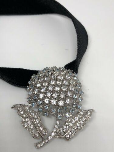 Vintage Genuine 925 Sterling Silver Choker Necklace