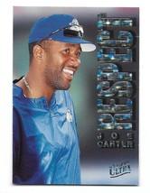 1996 Fleer Ultra Respect Joe Carter Insert Card #1 - $0.98
