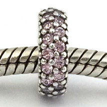 Authentic Pandora Inspiration Within Pink CZ Spacer Charm 791359PCZ New - $29.44