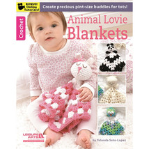 Leisure Arts-Animal Lovie Blankets - $15.43