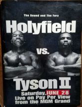 HOLYFIELD vs TYSON II June 28 1997 MGM Grand Graden Press Kit - $94.95