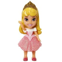 My First Disney Princess Mini Toddler Doll Sparkle Collection Aurora 3.7... - $11.65