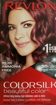 Revlon ColorSilk Beautiful Color NEW LOOK 48 Burgundy Colored Hair Dye NIB - $11.88