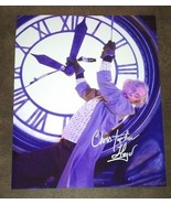 Christopher Lloyd Hand Signed 8x10 Photo COA PROOF Back To The Future - $100.00