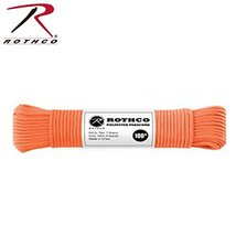 Rothco Polyester Paracord-100 Ft/Safety Orange - $8.98