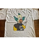 Clown Lives Matter Black Simpsons Krusty  Humor XXL - $20.90
