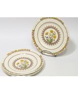 "Set of 4 Spode BUTTERCUP Bread & Butter Side Plates  6 3/8"" - $31.68"
