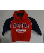 NWOT Washington Capitals Hoodie Sweatshirt Child 2T NHL Official Merchan... - $16.70