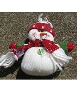Snowman 52774RGH - Red Hat Snowman Ornament - $4.50