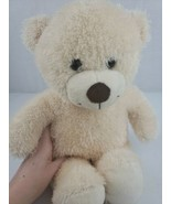 Build A Bear Workshop Bear Ivory Soft Toy Stuffed Animal Plush 15'' - $9.00