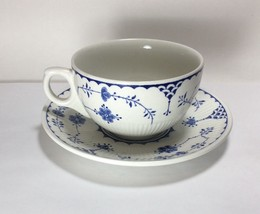 Franciscan Blue Denmark Tea Cup & Saucer Set s - $4.94
