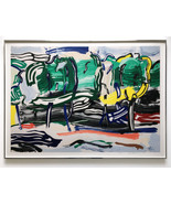 Roy Lichtenstein Road Before the Forest S/N Ltd Ed Large Print Framed JK... - $100,000.00