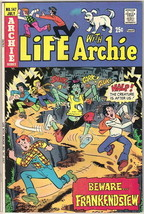 Life With Archie Comic Book #147, Archie 1974 FINE/FINE+ - $10.69