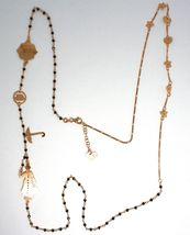 Long Necklace 90 cm, 925 Silver, Mary, Hat, Umbrella, Stars, le Favole image 8