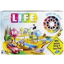 The Game Of Life Board Game Hasbro Family Kids Fun - $29.99