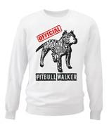 Pitbull - official walker b - NEW WHITE COTTON SWEATSHIRT - $30.65