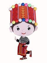 Panda Superstore 2 Pcs, Fridge Magnet Refrigerator Creative Chinese Style Magnet - $23.83