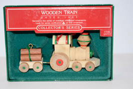 Hallmark: Wooden Train - 1985 Classic Ornament - $10.59