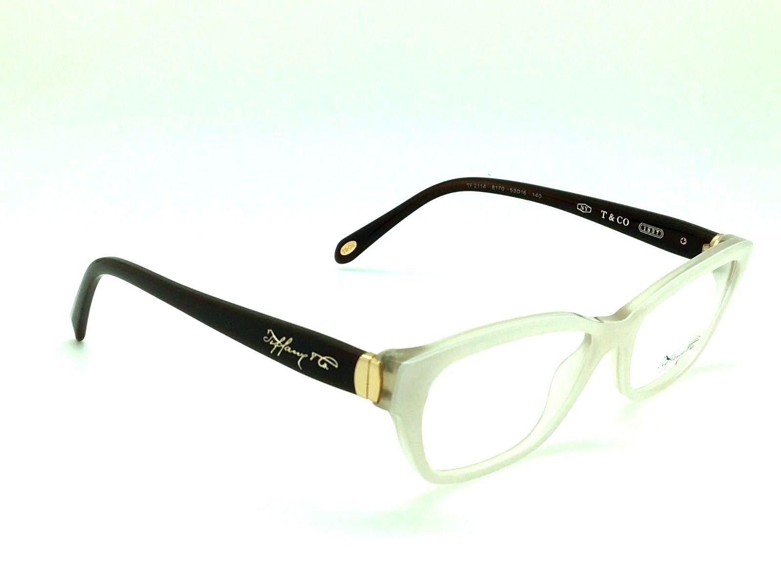 9a505b0b52b New Tiffany   Co. TF 2114 8170 Authentic Eyeglasses Pearl Ivory Fast  Shipping