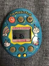 Yasashii Tamagotchi Deka-Tama Blau Bandai 1998 Sehr Selten Werke Näpfe v... - $569.89