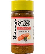 Johnny's Alaskan Salmon Seasoning 8.25 oz (Pack of 6) - $28.69