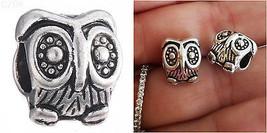 SIlver Tone Baby owl Wise graduation owl charm ... - $8.99