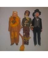 Vintage Wizard Of Oz Dolls 1981 Toy Time Inc 1988 Muti Toys - $29.69