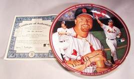 Mark Mcgwire Record 70 Hr Year Complete 12 Plate Set, The Bradford Exchange, New - $179.96