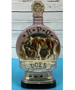 1971 Jim Beam Decanter Benevolent Patriotic Order 50th BPO DOES Vintage ... - $22.22