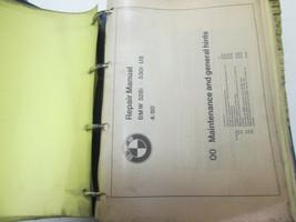 1980s 1990s BMW 528i 530i Service Repair Shop Manual FACTORY OEM Volume 1 - $197.98