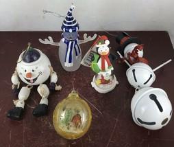 Vintage Lot Of 5 Mix Ornaments - $18.70
