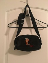 Tigger Embroidered Walt Disney World Fanny OutDoor Waist Pack Black Bag - $64.32