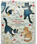 Trader Joe's Advent Calendar For Cats Salmon & Dried Seaweed Cat Treats  - $13.84