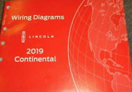 2019 Lincoln Continental Electric Wiring Diagrams Diagram Service Manual... - $18.75