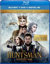 The Huntsman: Winters War Extended Edition (Blu-ray+DVD+Digital)