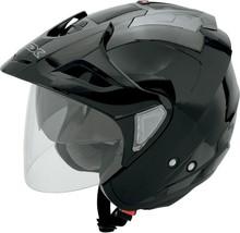Afx Mens FX-50 Motorcycle Street Helmet Black Xl - $109.95