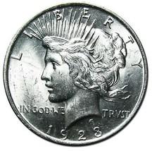1923 Peace Silver Dollar Coin Lot # EA 278