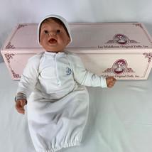 Lee Middleton Newborn Nursery Doll Box Bible New Parent Packet Button Th... - $98.99