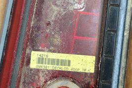06-09 Pontiac G6 Convertible Trunk Spoiler LED 3rd Brake Light image 9