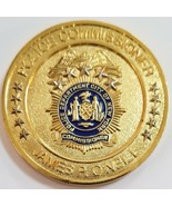 NYPD New York City Police Commissioner James P O'Neill Challenge Coin - $98.99