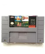 4 in 1 Secret of Mana 1 & 2, Zelda Link To the Past & Parallel Worlds SN... - $29.99