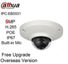 Dahua IPC-EB5531 repalce EB5500 5MP Panoramic Network Fisheye Camera 1.4... - $175.41