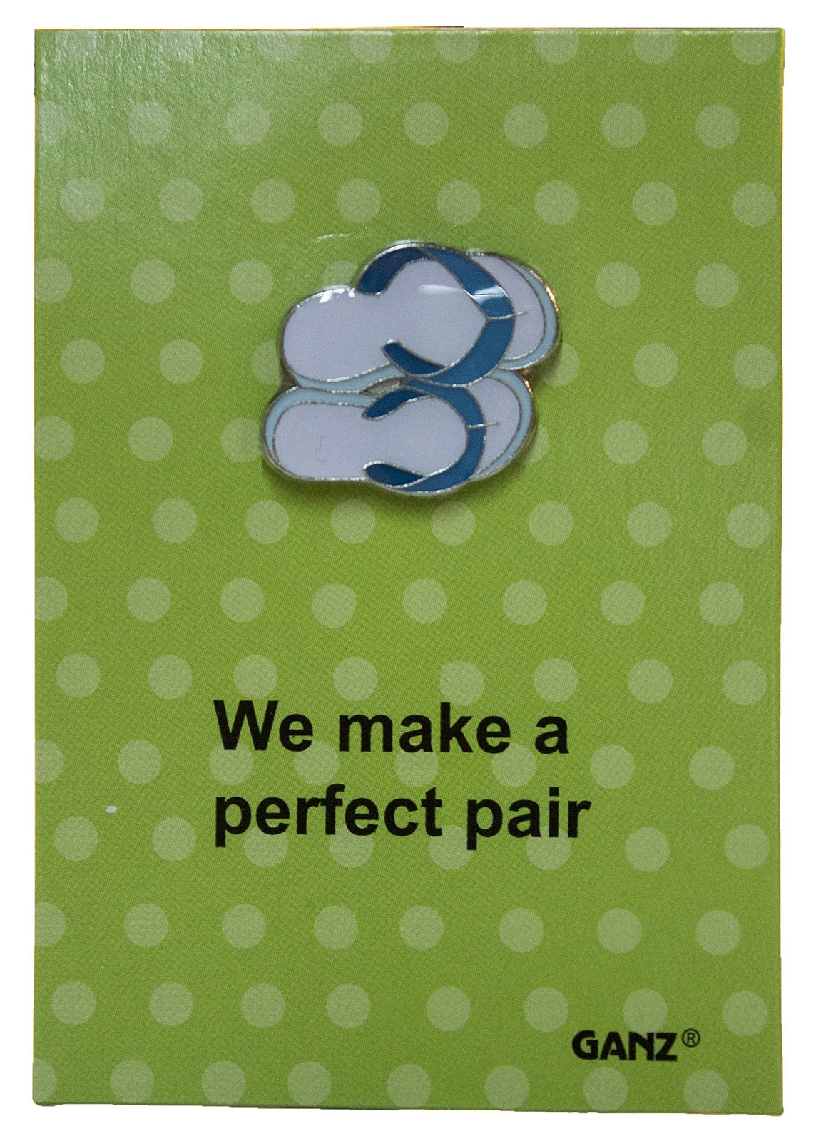 Pin It! Lapel Pin Hat Pin Tie Tack with Colorful Enamel and Funny Pun- Flip Flio - $3.91