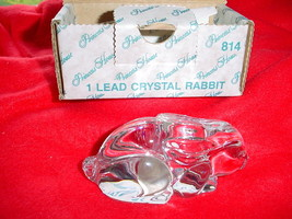 Princess House Lead Crystal Rabbit #814 Brand New In Box Free Usa Shipping - $16.82