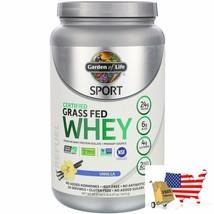 Garden of Life, Sport, Certified Grass Fed Whey, Vanilla, 22.57 oz (640 g) - $65.31