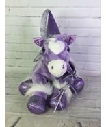 Build A Bear Purple Horse Pony Sparkles Glitter Stuffed Plush With Acces... - $54.45