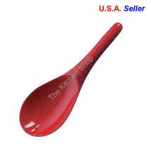 Rice Spoon Melamine Scoop Wok Spoon Red- Kitchen Tools & Gadgets (Free S... - $16.30