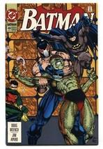 Batman #489 1993 Comic book-BANE-AZRAEL - $25.22