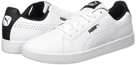 PUMA SMASH WOMEN'S PERF WHITE LEATHER SNEAKERS #36372403 - $41.99