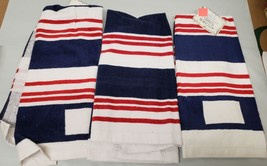 """Set Of 3 Same Printed Kitchen Towels (15"""" X 25"""") Usa Colors, Red, Blue, White,Am - $14.84"""